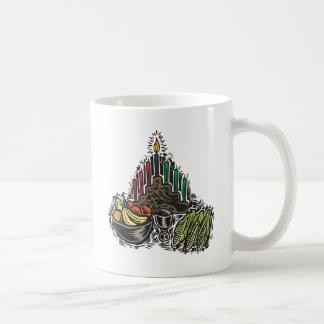 Kwanzaaの食糧 コーヒーマグカップ
