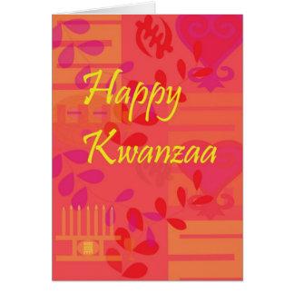 Kwanzaaカードメロン カード
