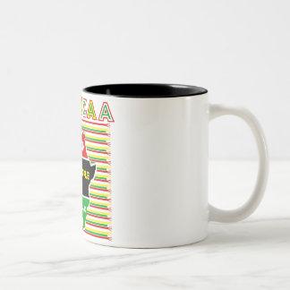 Kwanzaa ツートーンマグカップ