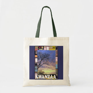 Kwanzaa -田舎場面 トートバッグ