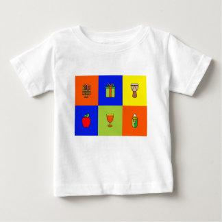 kwanzaa colorblock ベビーTシャツ