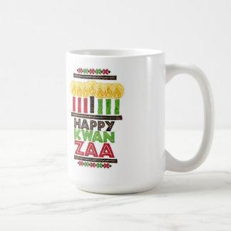 Kwanzaa Kwanzaaのマグの挨拶 コーヒーマグカップ