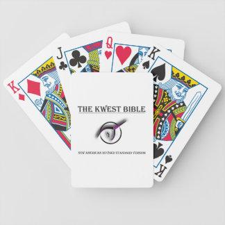 Kwestの聖書のトランプ バイスクルトランプ