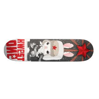 KWESTONE REDSTAR 21.6CM スケートボードデッキ