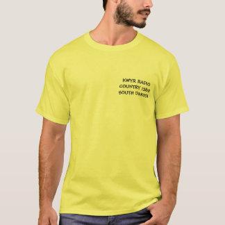 KWYRの無線の国1260年のサウスダコタ Tシャツ