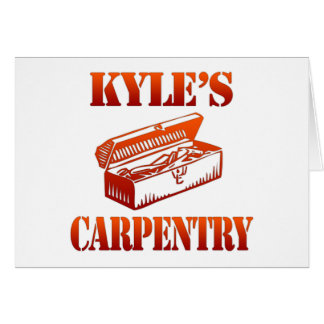 Kyleの大工仕事 カード