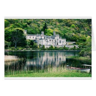 Kylemoreの大修道院アイルランド カード