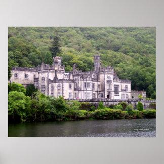 Kylemoreの大修道院 ポスター