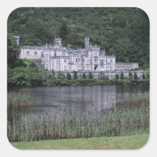 Kylemoreの大修道院、Connemaraの郡ゴールウェイ、 スクエアシール