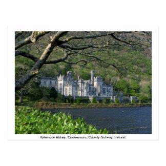 Kylemoreの大修道院、Connemara、Co.ゴールウェイ ポストカード