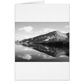 Kylemore湖B&W カード