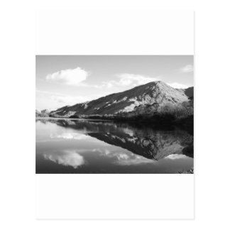 Kylemore湖B&W ポストカード