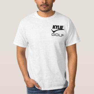 Kylieのゴルフ上(白い) Tシャツ