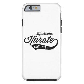 Kyokushinの空手のヴィンテージの電話箱(Iphone 6) ケース