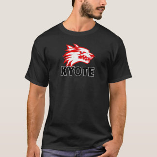 Kyoteの黒 Tシャツ
