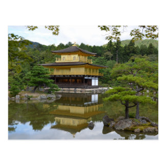 Kyōto Kyoto - Japan Goldener Pavillon Kinkaku-ji ポストカード