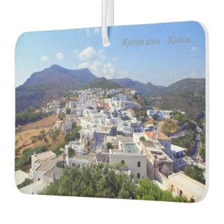 Kythiraの町- Kythira カーエアーフレッシュナー
