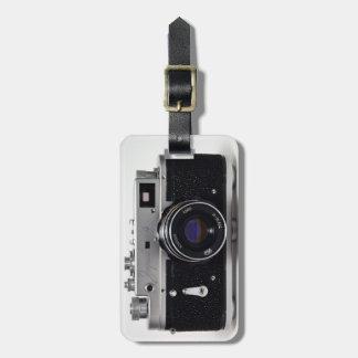 Lのヴィンテージのカメラのコレクション02のロシア人のコピー ラゲッジタグ