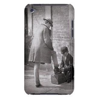 「Lの街の生活からの独立した靴黒、 Case-Mate iPod TOUCH ケース