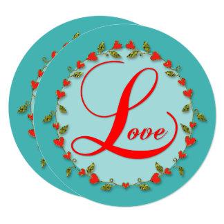 Lは娘の愛バレンタインのためです カード