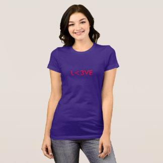 L<3VE LONG SLEEVE WOMEN'S SHIRT Tシャツ