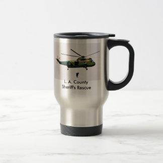 L.A. 郡保安官の救助、L.A. CountySheriff… トラベルマグ
