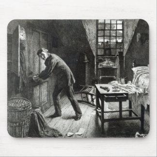 、L. Flameng著刻まれて台無しになるべき、道1878年 マウスパッド