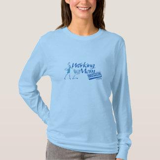 L/Sの働く母親のクーポンの女性のTシャツ Tシャツ