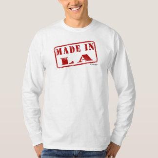 LAで作られる Tシャツ
