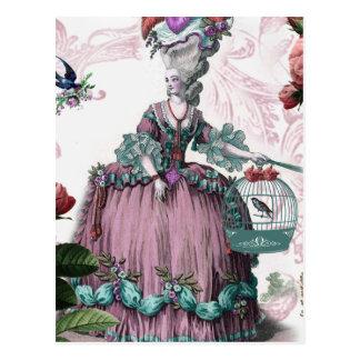 laのおりの補助のoiseaux (鳥籠) ポストカード