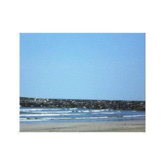 Laのパロマのビーチ キャンバスプリント