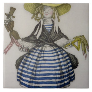 LaのブティックFantからのパペット女の子のための衣裳、 タイル