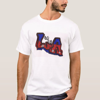 LAの大きい都市 Tシャツ