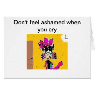 LAの生き物Cici猫の挨拶状 カード