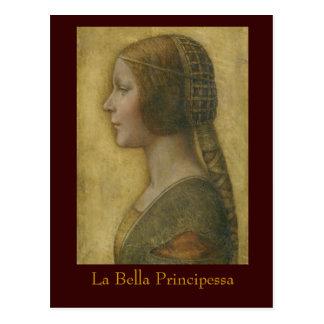 LaのBella Principessaの郵便はがき ポストカード
