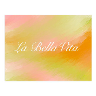 LaのBella Vitaの郵便はがき ポストカード