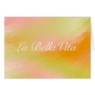 LaのBella Vitaカード カード