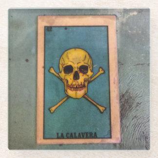 LaのCalaveraのコースター ガラスコースター