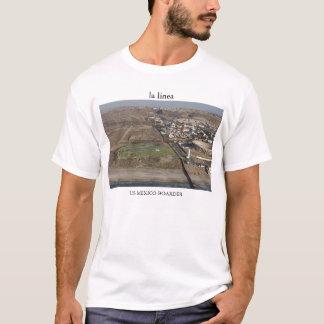 laのlínea米国メキシコの寄宿生-こんにちはRez Tシャツ