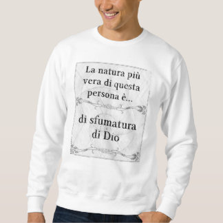 Laのnaturaのpiùヴィエラ: sfumaturaのDioのSignore スウェットシャツ