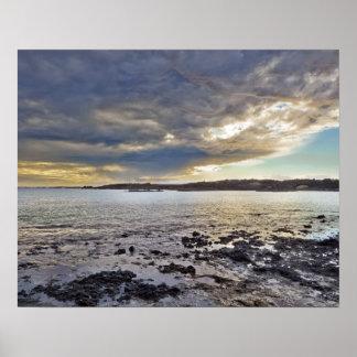 LaのPerouse湾、マウイ、ハワイ、米国 ポスター