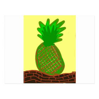 laのpinaのlolaのパイナップル ポストカード