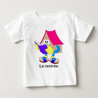 Laのrentrée ベビーTシャツ