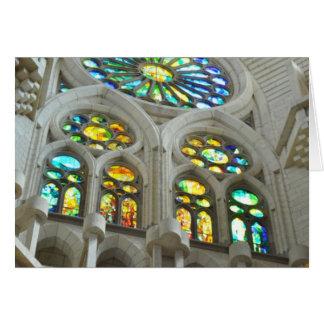 LaのSagrada Familia教会 カード