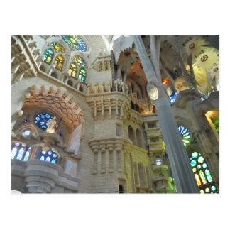 LaのSagrada Familia教会 ポストカード