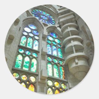 LaのSagrada Familia教会 ラウンドシール