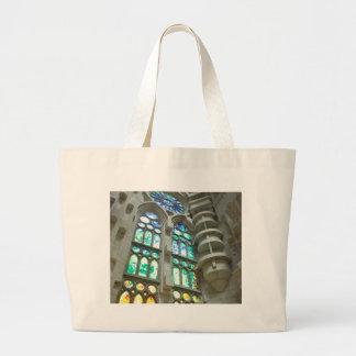 LaのSagrada Familia教会 ラージトートバッグ