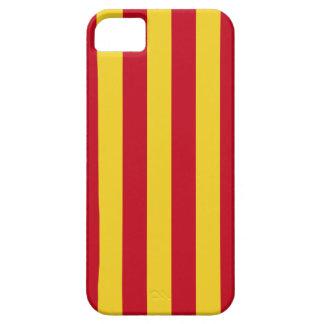 LaのSenyera Catalunyaの旗 iPhone 5 ケース
