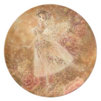 LaのSylphideのバレエのプレート プレート