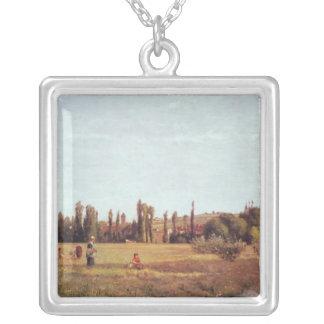 LaのVarenne de St.ヒレア1863年 シルバープレートネックレス